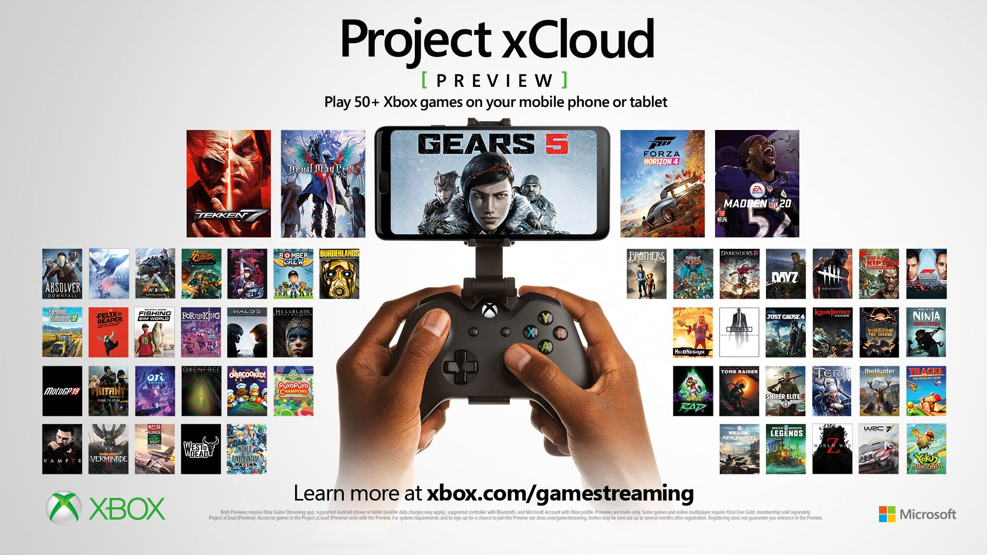 Xbox streaming - Microsoft stream - Microsoft Project xCloud - Xbox games streamen
