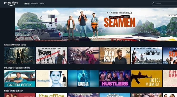 amazon prime video aanbod - amazon prime video abonnement - prime video prijs