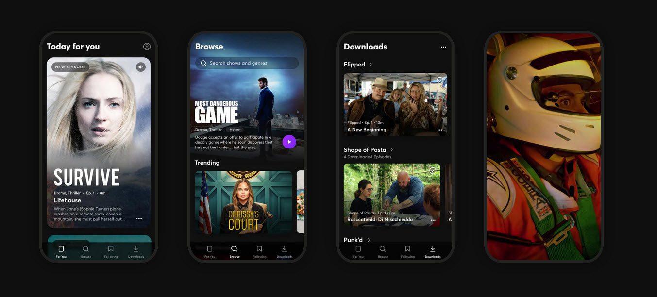 quibi aanbod - quibi shows - quibi app - quibi streaming