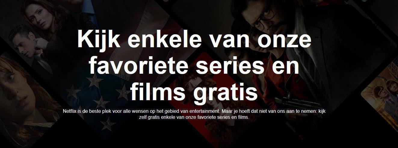 Gratis netflix kijken - Gratis films en series via Netflix - Video on demand